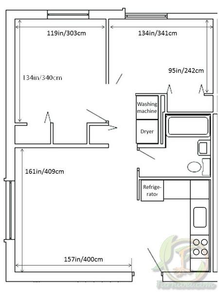 ide mendekorasi ruang tidur kecil