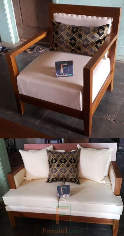 Set Kursi Tamu Sofa Untuk Ruang Tamu Minimalis Klasik