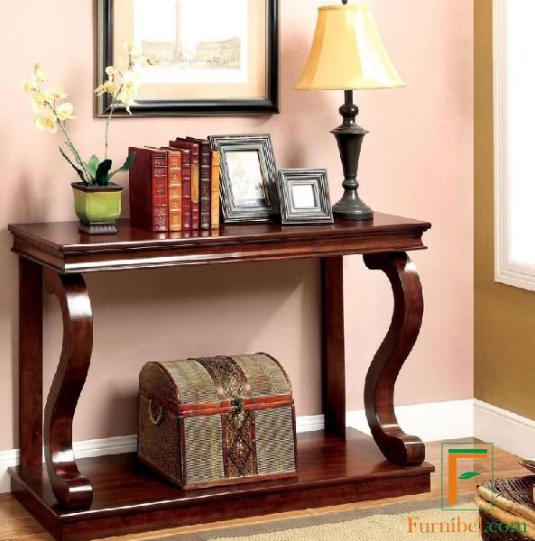 Meja Konsul dengan Kaki R