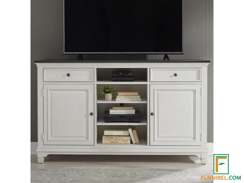 Meja TV Warna Putih