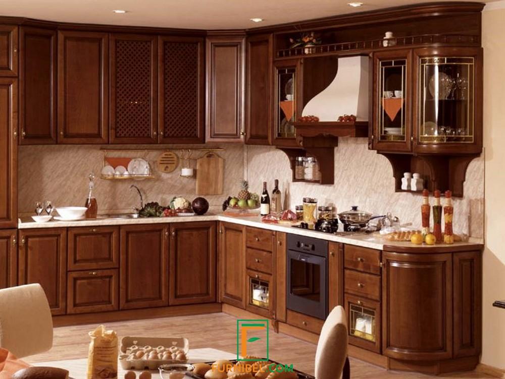 Custom Kitchen Set Minimalis Kayu Solid Jati